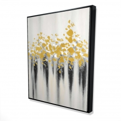 Framed 48 x 60 - 3D - Small golden spots