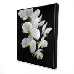 Framed 48 x 60 - 3D - Beautiful orchids