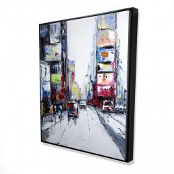 Framed 48 x 60 - 3D - Time square
