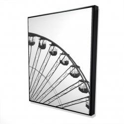 Framed 48 x 60 - 3D - Quarter of a ferris wheel