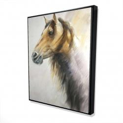 Framed 48 x 60 - 3D - Wild horse