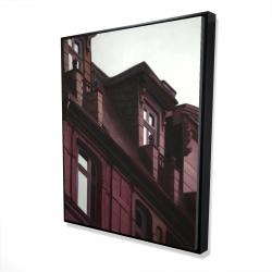 Framed 48 x 60 - 3D - Architectural building