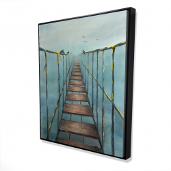 Framed 48 x 60 - 3D - In the jungle