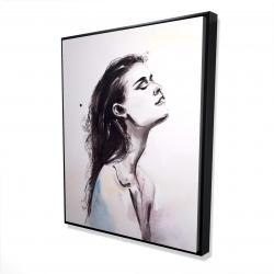 Framed 48 x 60 - 3D - Bare skin