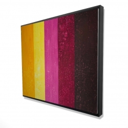 Framed 48 x 60 - 3D - Live stripes