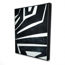 Framed 48 x 60 - 3D - Labyrinth