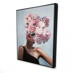 Framed 48 x 60 - 3D - See life in flowers