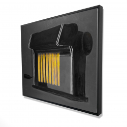 Framed 48 x 60 - 3D - Fresh pasta machine