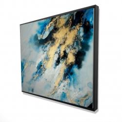 Framed 48 x 60 - 3D - Blue marble