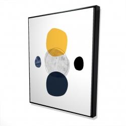 Framed 48 x 60 - 3D - Spheres