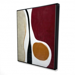 Framed 48 x 60 - 3D - Multiform