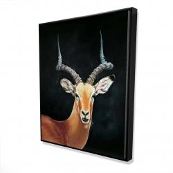 Framed 48 x 60 - 3D - Antelope