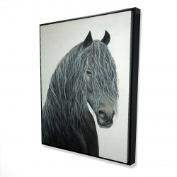 Framed 48 x 60 - 3D - Wild heart