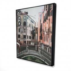 Framed 48 x 60 - 3D - Venice