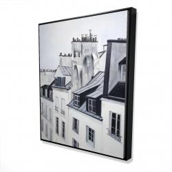 Framed 48 x 60 - 3D - Historical buildings
