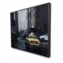 Framed 48 x 60 - 3D - New york in the dark