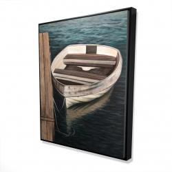 Framed 48 x 60 - 3D - Rowboats