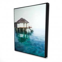 Framed 48 x 60 - 3D - Dream travel