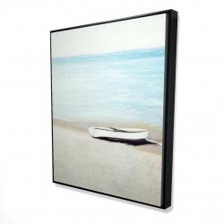 Framed 48 x 60 - 3D - Along the sea