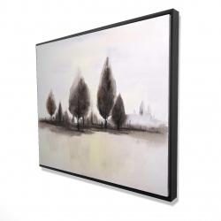 Framed 48 x 60 - 3D - Landscape of trees