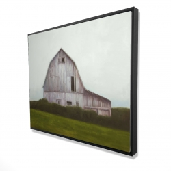 Framed 48 x 60 - 3D - Rustic barn