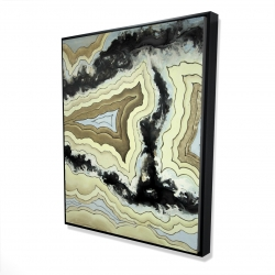 Framed 48 x 60 - 3D - Lace agate
