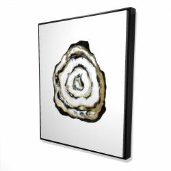 Framed 48 x 60 - 3D - Golden agate