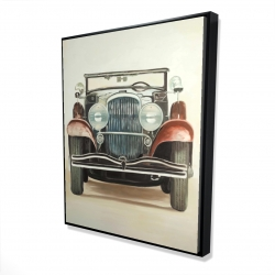 Framed 48 x 60 - 3D - Old 1920s luxury car