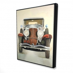 Framed 48 x 60 - 3D - Vintage luxury car