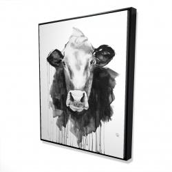 Framed 48 x 60 - 3D - Cow
