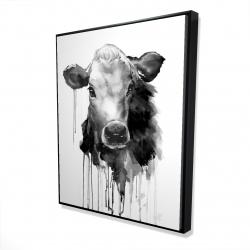 Framed 48 x 60 - 3D - Jersey cow