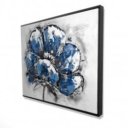 Framed 48 x 60 - 3D - Small flower