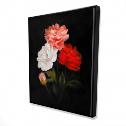 Framed 48 x 60 - 3D - Small bundle of roses