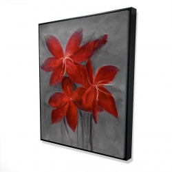 Framed 48 x 60 - 3D - Asiatic lily