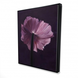 Framed 48 x 60 - 3D - Purple petals