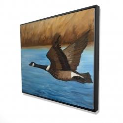 Framed 48 x 60 - 3D - Canada goose