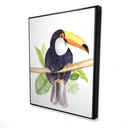 Framed 48 x 60 - 3D - Toucan