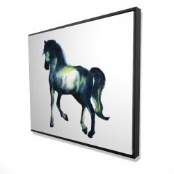Framed 48 x 60 - 3D - Elegant horse