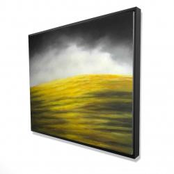 Framed 48 x 60 - 3D - Yellow hill