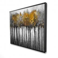 Framed 48 x 60 - 3D - Illuminated forest