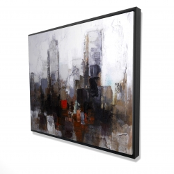 Framed 48 x 60 - 3D - Obscure city