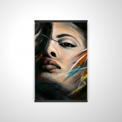 Magnetic 20 x 30 - 3D - Abstract woman portrait