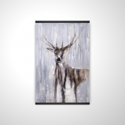 Magnetic 20 x 30 - 3D - Winter abstract deer