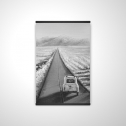 Magnetic 20 x 30 - 3D - Car on the road