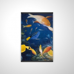 Magnetic 20 x 30 - 3D - Colorful fish under the sea