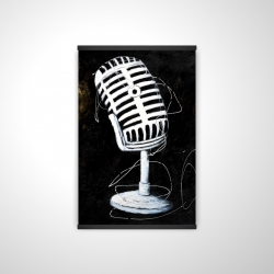 Magnetic 20 x 30 - 3D - Microphone