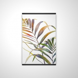 Magnetic 20 x 30 - 3D - Watercolor tropical palm leaves