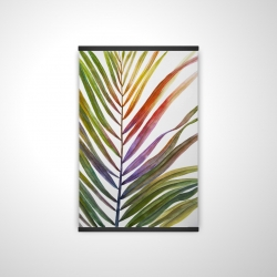 Magnetic 20 x 30 - 3D - Watercolor tropical palm leave