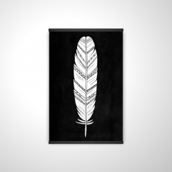 Magnetic 20 x 30 - 3D - Feather with patterns