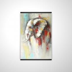 Magnetic 20 x 30 - 3D - Abstract paint splash elephant